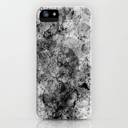 Abstract Artwork Greyscale #3 iPhone Case