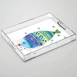 Fish3 Acrylic Tray