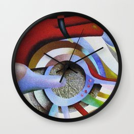 Aspiration pursuit Wall Clock