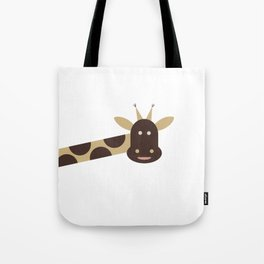 Joyful Giraffe Tote Bag