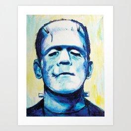 Let's Be Frank Art Print