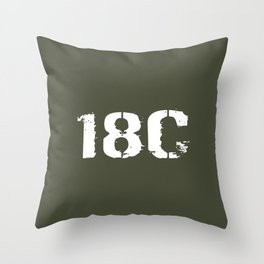 18C Special Forces Engineer Throw Pillow