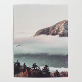 Mt Cloudy Poster