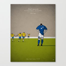 Roberto Baggio Canvas Print