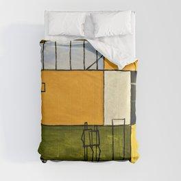 Constructive Painting 6 - Joaquin Torres Garcia Comforters