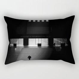black white photo Rectangular Pillow