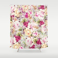 carpet of roses Shower Curtain