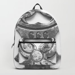 antique and unique key I Backpack
