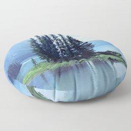 Spirit Island: Canadian Serenity Floor Pillow