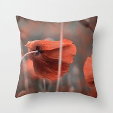 Oh ! My Poppy ! Throw Pillow