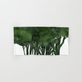 Tree Impressions No.1C by Kathy Morton Stanion Hand & Bath Towel