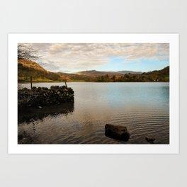 Rydal Water Morning Art Print