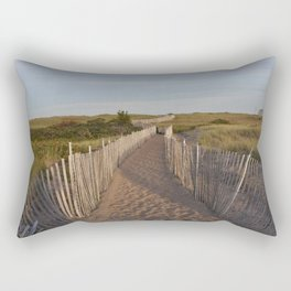 Walkway to the South Jetty Rectangular Pillow