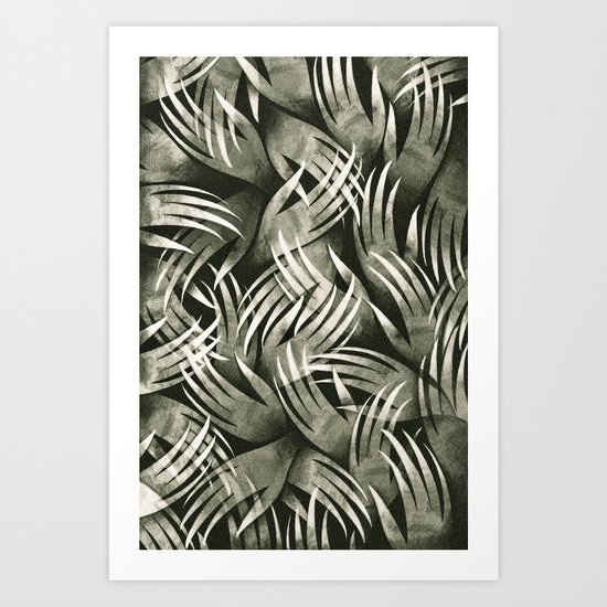 In The Icy Air of Night - Silver Screen Edition Art Print