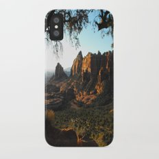 On a clear day iPhone X Slim Case