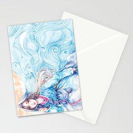 Wavediver - Korean Hanbok Manga Illustration Stationery Cards