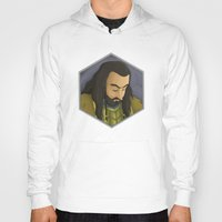 thorin Hoodies featuring Thorin by DodoRiv