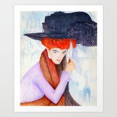 Agatha Art Print