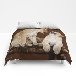 Oh No You Di' ent. Oh Yes I Did! Comforters