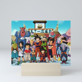Dragon Ball Mini Art Print
