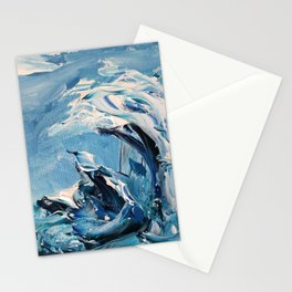 Rough Sea Wave Stationery Cards