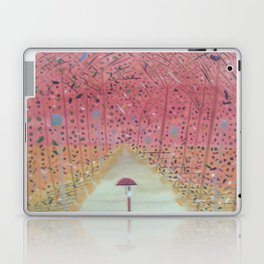A Walk in the Autum Park Laptop & iPad Skin