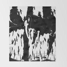 Rusalka:  Demon Witch of the Vasyugan Swamp Throw Blanket