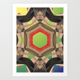 Benetton IV Art Print