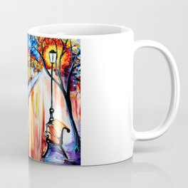 Nighttime Alley Coffee Mug