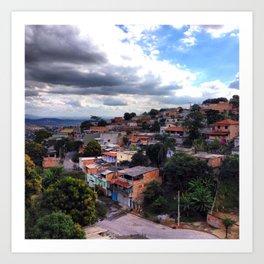 Belo Horizonte Brazil Art Print