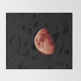 Blood Moon Throw Blanket