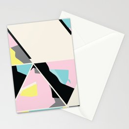 triangle no.3 / with love Stationery Cards