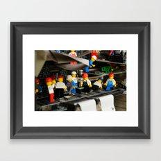 Maintenance Framed Art Print