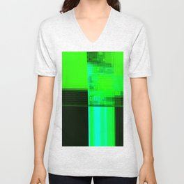 Re-Created Northern Cross1 by Robert S. Lee Unisex V-Neck