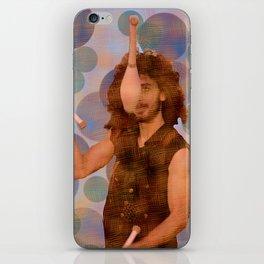 The juggler iPhone Skin