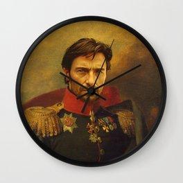 Hugh Jackman - replaceface Wall Clock