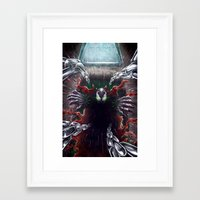 spawn Framed Art Prints featuring Spawn by Art by JP