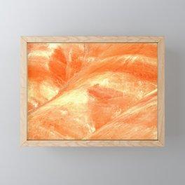 MACRO SHOT - PAINTED HILLS - EASTERN OREGON - JOHN DAY Framed Mini Art Print