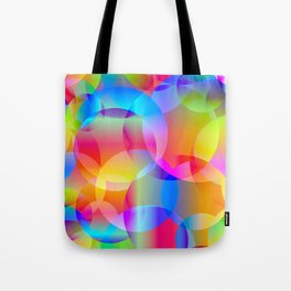 Soap bubbles for air mood. Tote Bag
