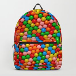Mini Gumball Candy Photo Pattern Backpack