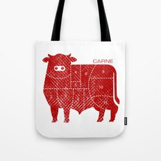 carne Tote Bag