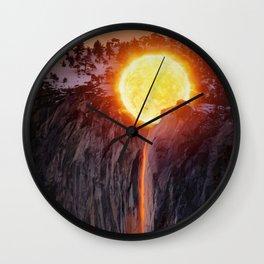 Sun Wash by GEN Z Wall Clock
