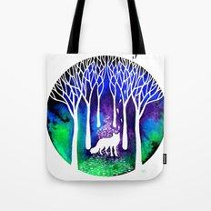 The Night Fox Tote Bag