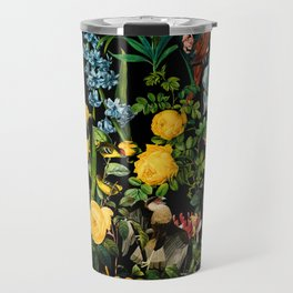 FLORAL AND BIRDS V Travel Mug