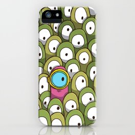 Pingo's People (Dare to be Different!) iPhone Case