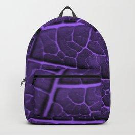 LEAF STRUCTURE ULTRAVIOLET no3 Backpack