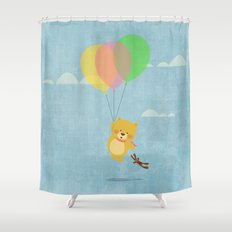 I can fly! Shower Curtain