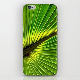 Green Burst iPhone Skin