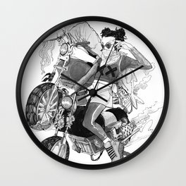 Rank XX Wall Clock