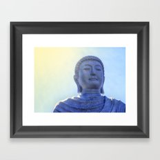 Meditating Buddha Framed Art Print